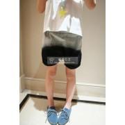 กางเกงเด็กทรงบอลลูนสียีนส์ดำ