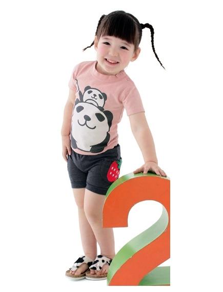 ชุดเสื้อกางเกงเด็ก ชุดเด็ก ชุดเด็กเกาหลี ชุดแฟชั่นเด็ก ชุดเด็กเล็ก ชุดเสื้อกางเกงเด็กลายหมีแพนด้า เสื้อยืดเด็กลายหมีแพนด้า เสื้อแขนสั้นเด็กลายหมีแพนด้า เสื้อยืดเด็กสีชมพู กางเกงเด็กขาสั้น กางเกงเด็กลายหมีแพนด้า กางเกงเด็กสีเทา